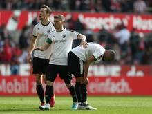 Erik Zenga (r.) wird dem SV Sandhausen lange fehlen