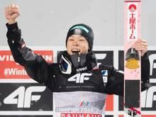 Skispringen: Ryoyu Kobayashi stellt Weltcup-Rekord ein