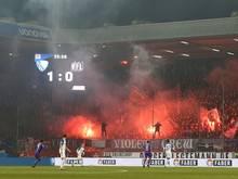 Wegen Pyrotechnik: Der VfL Osnabrück wird bestraft