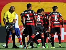 Das Derby in Salvador musste abgebrochen werden