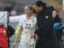 Steffi Jones und die DFB-Damen treffen auf Kanada