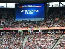 73.680 Zuschauer sahen das WM-Eröffnungsspiel 2011