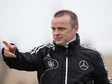 U16-Trainer Stefan Böger war zufrieden