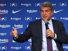 Barca-Boss Laporta hält an Super-League-Projekt fest