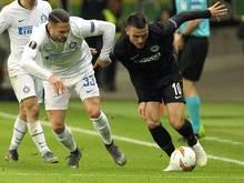 Frankfurt ist im Rückspiel gegen Inter Mailand gefordert