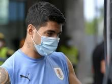 Luis Suárez ist positiv getestet worden