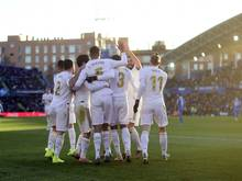 Real Madrid setzt sich mit 3:0 gegen Getafe durch