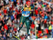 Katharina Hennig erreicht Platz zehn in Oberstdorf