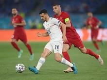 Florenzi wurde im Spiel gegen die Türkei ausgewechselt