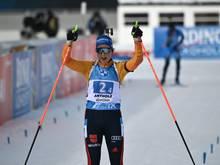 Die Frauen Staffel holt in Antholz den zweiten Platz
