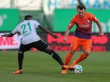 Stöger (r.) wechselt zum Aufsteiger Fortuna Düsseldorf