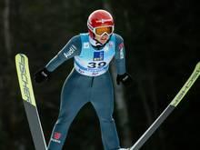 Skispringen: Althaus landet auf dem achten Platz