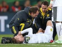 Mit einer Knieprellung davongekommen: Marco Reus