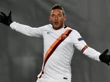 Das Tor von Francesco Totti reicht Rom nicht zum Sieg
