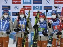 Frauen-Staffel startet ohne Änderung in Antholz