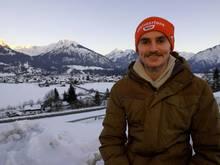 Richard Freitag setzt sich für den Klimaschutz ein