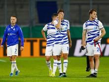 Der MSV Duisburg hat aktuell nicht genügend Spieler zur Verfügung