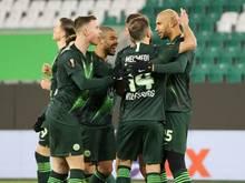 Die Spieler des VfL Wolfsburg engagieren sich sozial