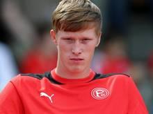 Gerrit Wegkamp wird nach Duisburg verliehen