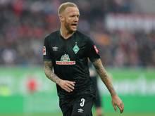 Fit für das Spiel gegen seinen Ex-Verein: Kevin Vogt von Werder Bremen
