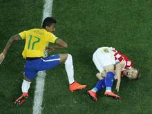 Luka Modric (r.) will im zweiten Spiel auflaufen