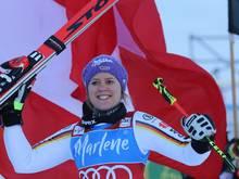 Viktoria Rebensburg erwischte einen guten Start