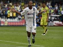 Ronaldinho erzielte einen Blitz-Doppelpack
