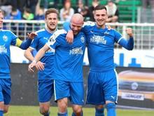 Maximilian Wolfram (r.) wechselt zum FC Ingolstadt