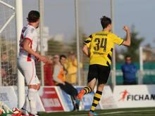 Jon Gorenc-Stankovic feiert seinen Siegtreffer gegen Sion
