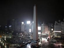 Freigabe für Siegesfeier: der Obelisco