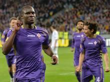 Florenz bis Saisonende ohne Babacar (l.)