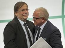 Rainer Koch (l.) nimmt den Bayerischen Verband in Schutz