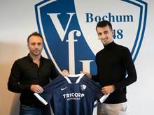 Erhan Masovic (r.) erhält einen Vertrag bis 2023