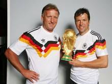 Die Weltmeister von 1990 feierten den 25. Jahrestag