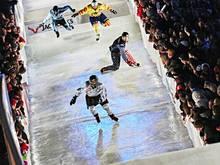Ice Cross Downhill: Duell zwischen den Dallago-Brüdern