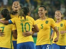 Marta spielt sich in die Herzen der Brasilianer