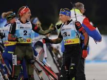 Vanessa Hinz und Erik Lesser bilden erneut ein Duo
