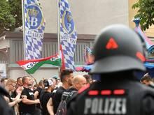Bisher keine Ausschreitungen in München