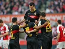 Gelungener Rückrundenauftakt für den VfB Stuttgart