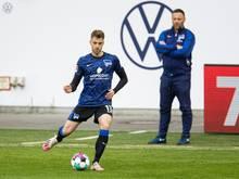 Lukas Klünter kann nicht nur Fußball spielen