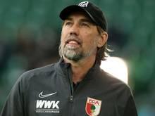 Trainer Martin Schmidt sah ein 4:1 seiner Augsburger