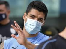 Luis Suarez gehört zu den Infizierten
