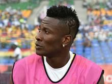 Wegen Frisur verwarnt: Asamoah Gyan