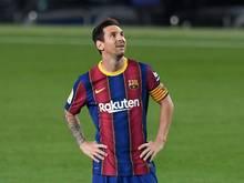 Lionel Messi entschuldigte sich bei den Fans und beim FC Barcelona