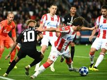 Neymar erzielte im Spiel gegen Roter Stern Belgrad gleich drei PSG-Tore