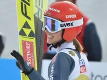 Katharina Althaus springt in Lillehammer auf Rang vier