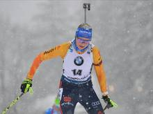 Franziska Preuß blickt gelassen auf die letzten Weltcups