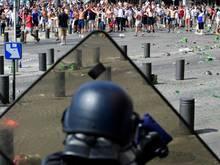 Heftige Ausschreitungen bei der EM 2016 in Marseille