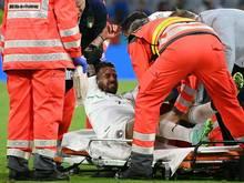 Leonardo Spinazzola verletzte sich im Belgien-Spiel