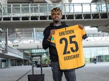 Dresden verstärkt sich mit Stürmer Godsway Donyoh